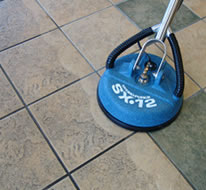 steamer cleaning titles and grout